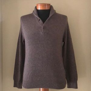 J Crew Shawl Collar Sweater
